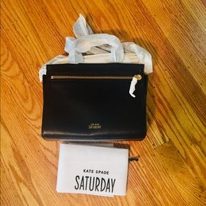 Kate Spade Saturday Zipline Crossbody.  NWT